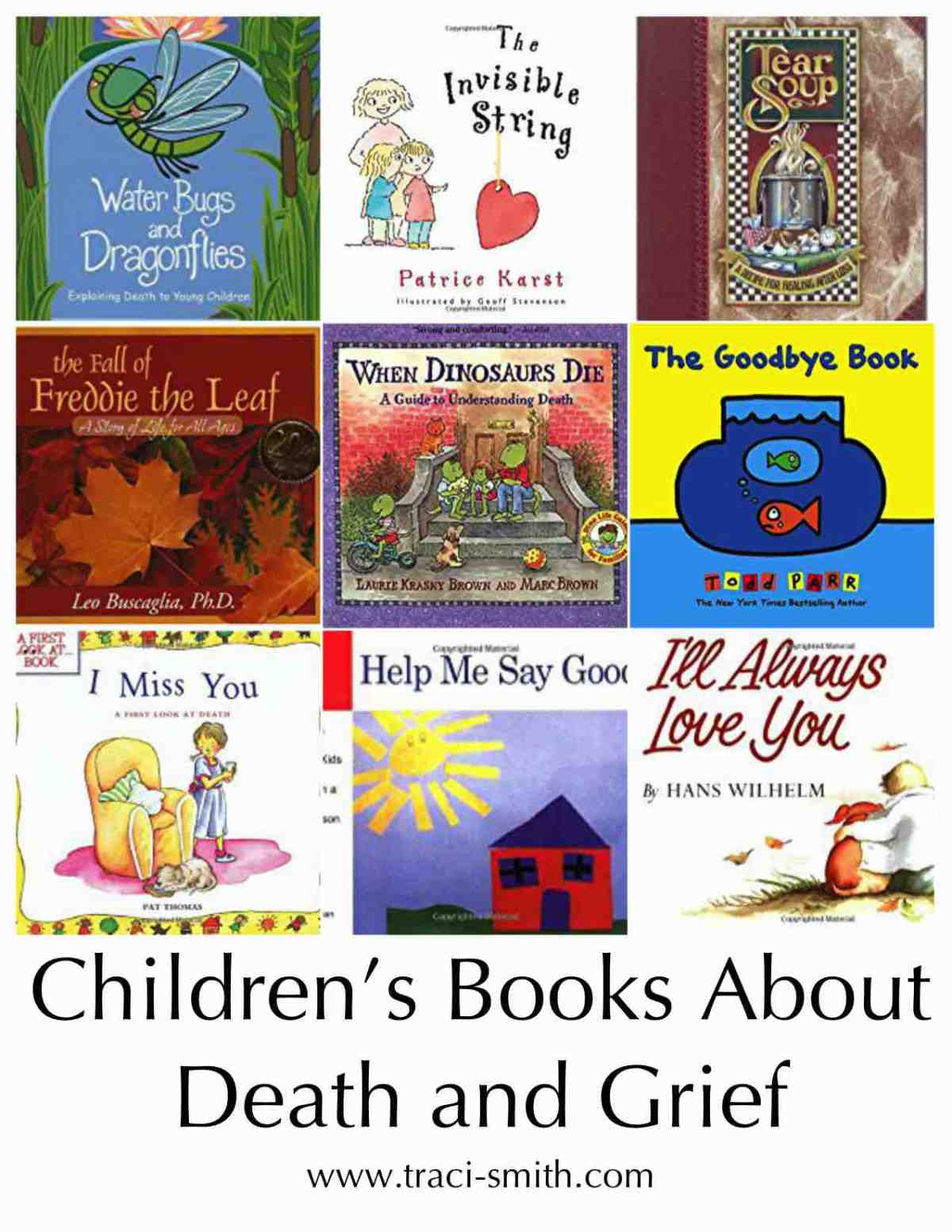 children and grief books