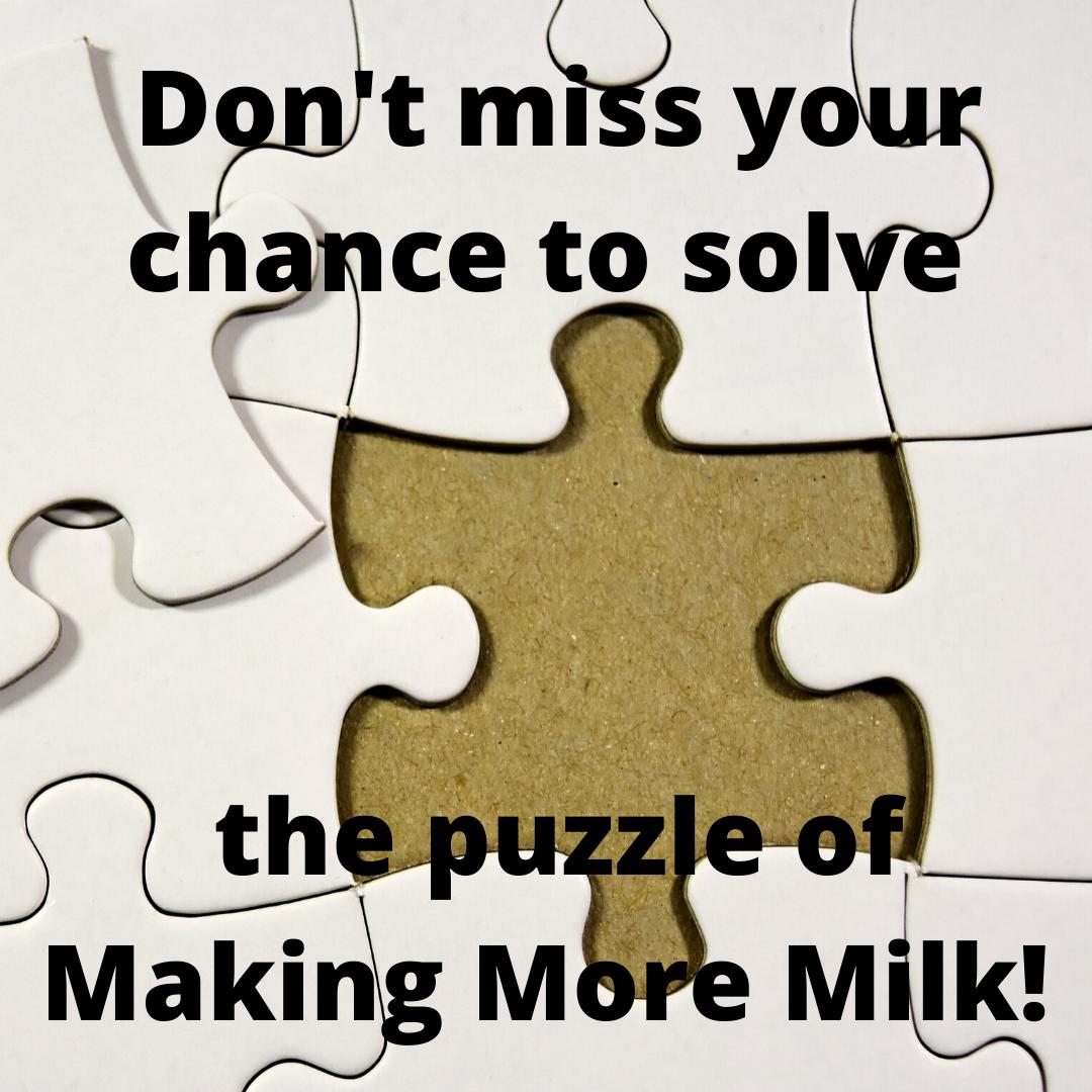 making more milk