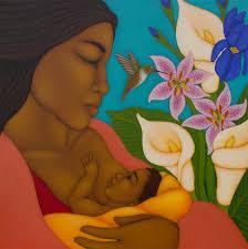 breastfeeding mom baby