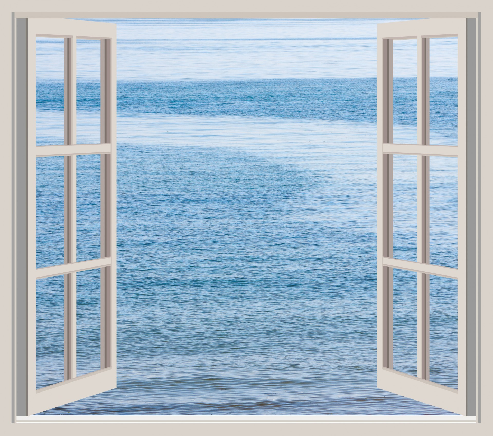 ... a window opens