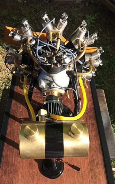 9 cylinder engine