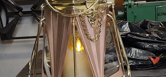 Copper and Brass Lantern