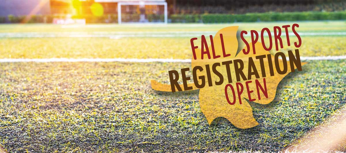 Check out a Complete Listing of Fall Sports Options!