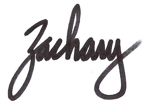 Zack Wilson Signature
