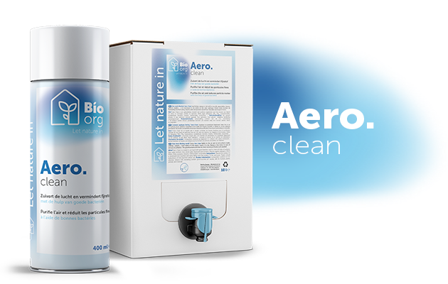 AERO.clean : the beginning of your bioOrg Ecosystem