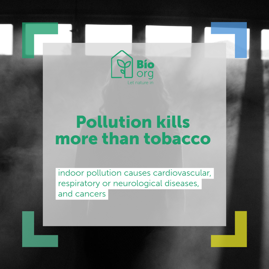Indoor pollution is more deadly than any other pollution : BioOrg can help