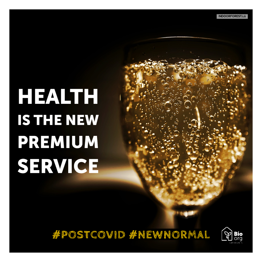 Post Covis-19 new normal : health is premium service