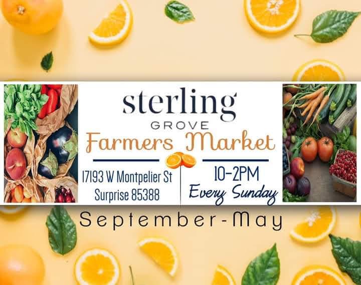 Sterling Grove Farmers Market Surprise, AZ