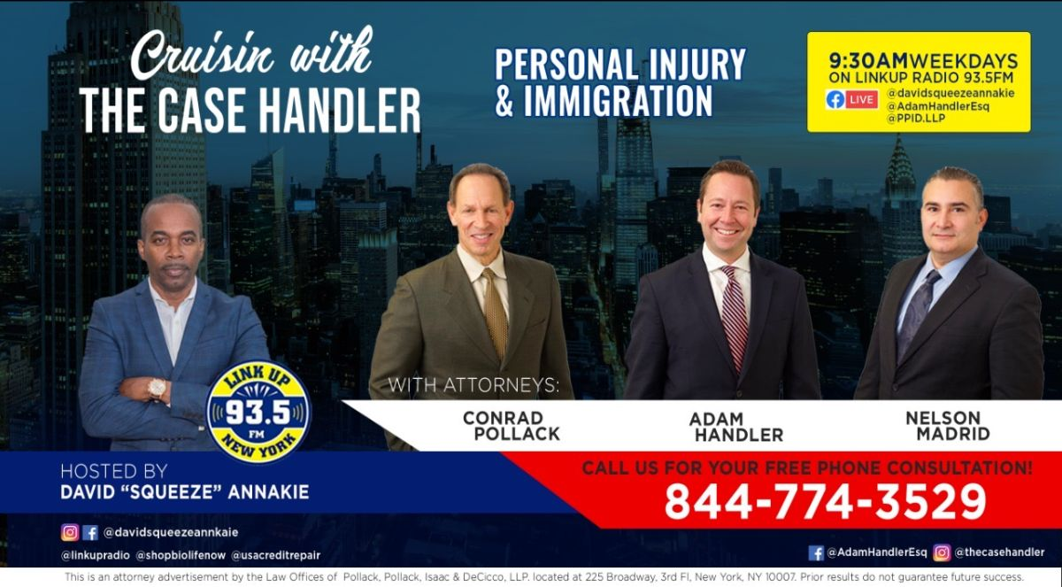 Cruising with The Case Handler - Personal Injury and Immigration Show