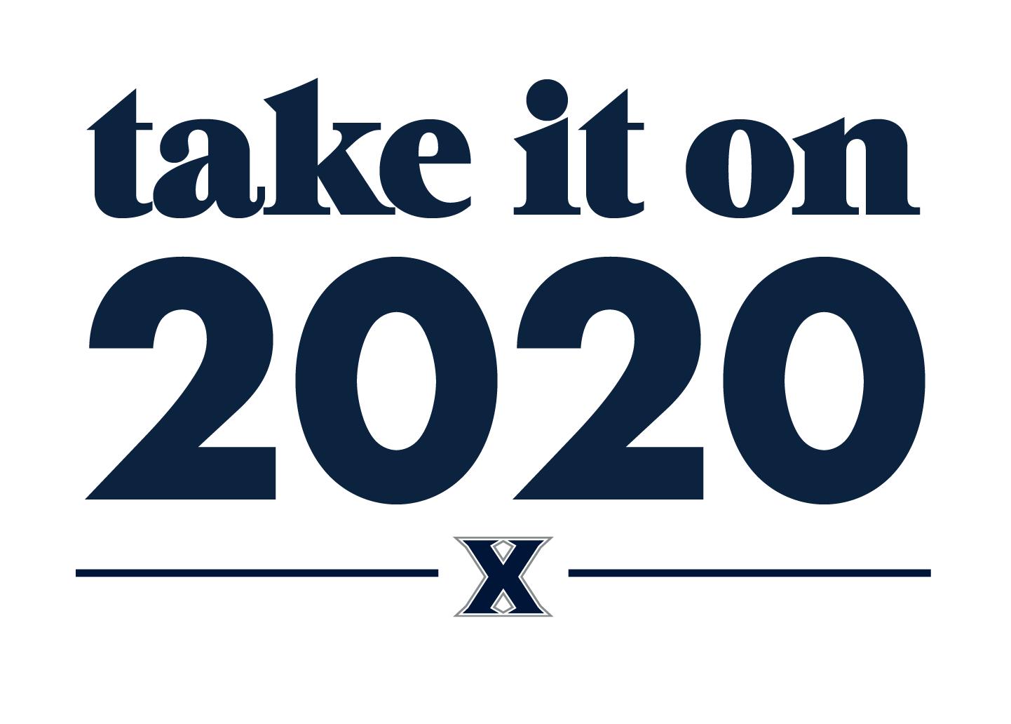 take it on 2020