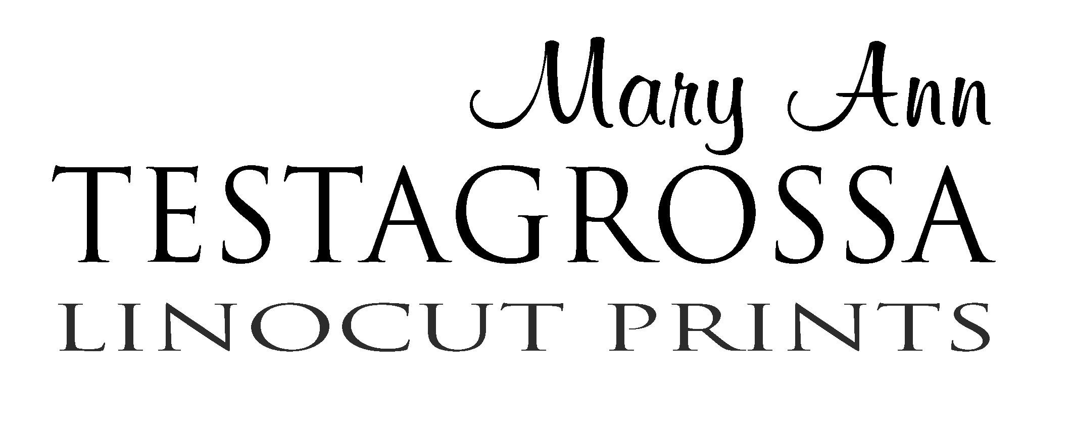 Mary Ann Testagrossa Linocut Prints