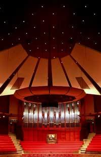 Christchurch Town Hall Rieger pipe organ