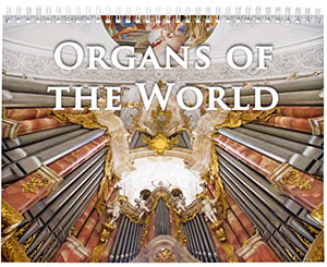 Icon of organs of the world calendar