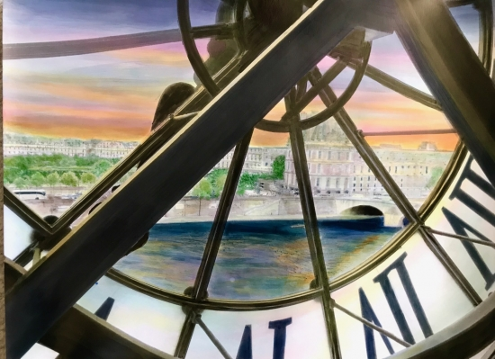 The Seine From Musee D'Orsay