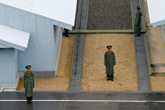 The Border Between Two Koreas