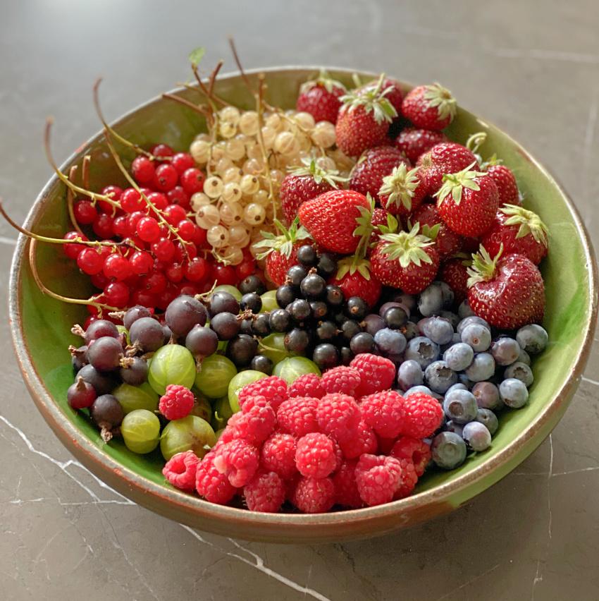 Bær fra haven