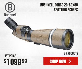 Bushnell Forge Spotting Scope 20-60x80