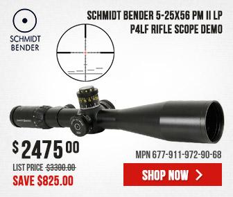 Schmidt Bender 5-25x56 PM II LP P4LF