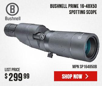 Bushnell Prime Spotting Scope 16-48x50