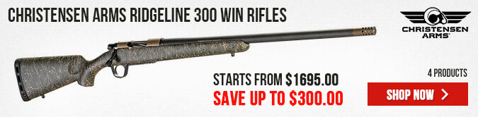 Christensen Arms Ridgeline 300 Win Rifles