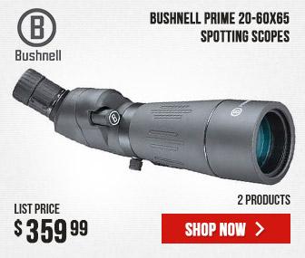 Bushnell Prime Spotting Scope 20-60x65
