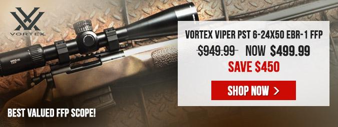 Vortex Viper PST 6-24x50 EBR-1 MOA