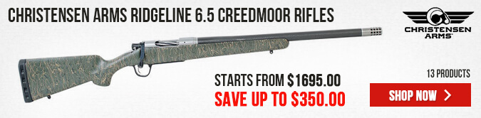 Christensen Arms Ridgeline 6.5 Creedmoor Rifles