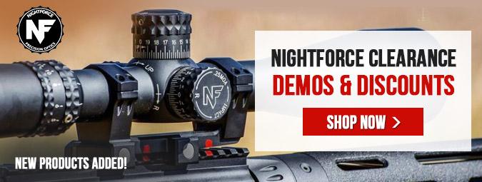 Nightforce Demo & Discounts