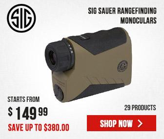 SIG Sauer Rangefinding Monoculars