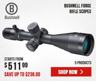Bushnell Forge Riflescopes