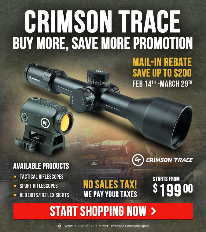 Crimson Trace Promotion