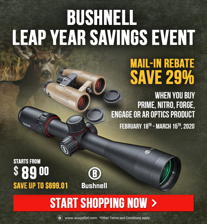 Bushnell Leap Year Savings Event