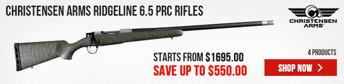 Christensen Arms Ridgeline 6.5 PRC Rifles