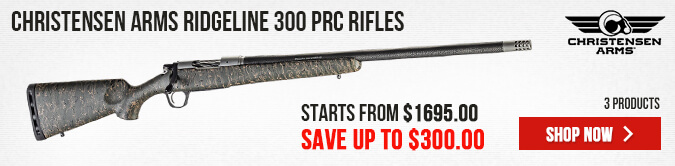 Christensen Arms Ridgeline 300 PRC Rifles