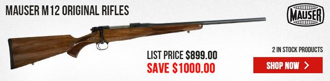 Mauser M12 Original Rifles