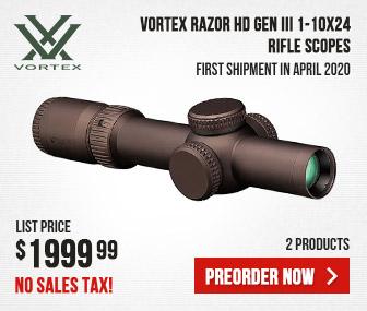 Vortex Razor HD Gen III 1-10x