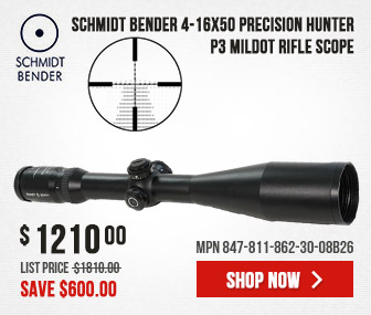 Schmidt Bender 4-16x50 Precision Hunter P3 Mildot