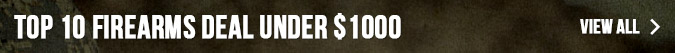 Top 10 Firearms Deal Under $1000