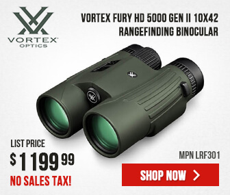 Vortex Fury HD 5000 Gen II 10x42