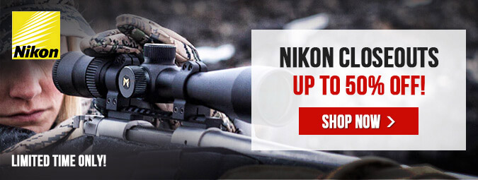 Nikon Closeouts - Save Up To 50% Off!