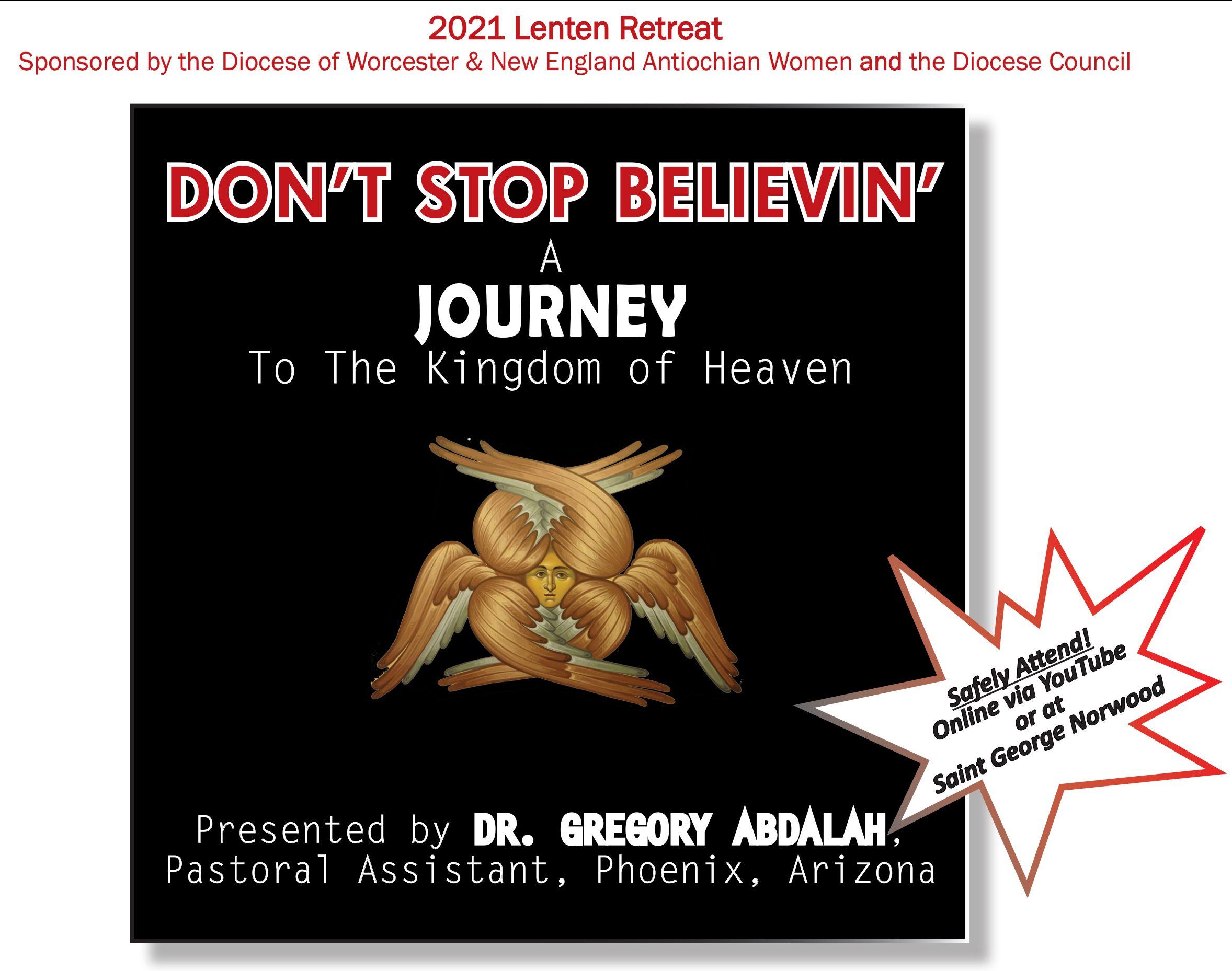 2021 Diocese Lenten Retreat