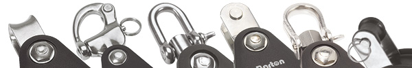 Selection of block fixings