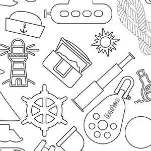 Pattern Colouring Sheet