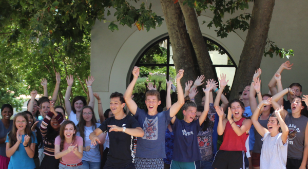 High School Summer Program students celebrate
