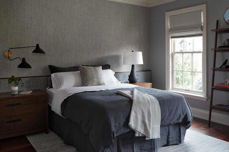 His Bedroom - After Image 1 - Summerhill Georgian, Gillian Gillies Interiors, photography Virginia Macdonald