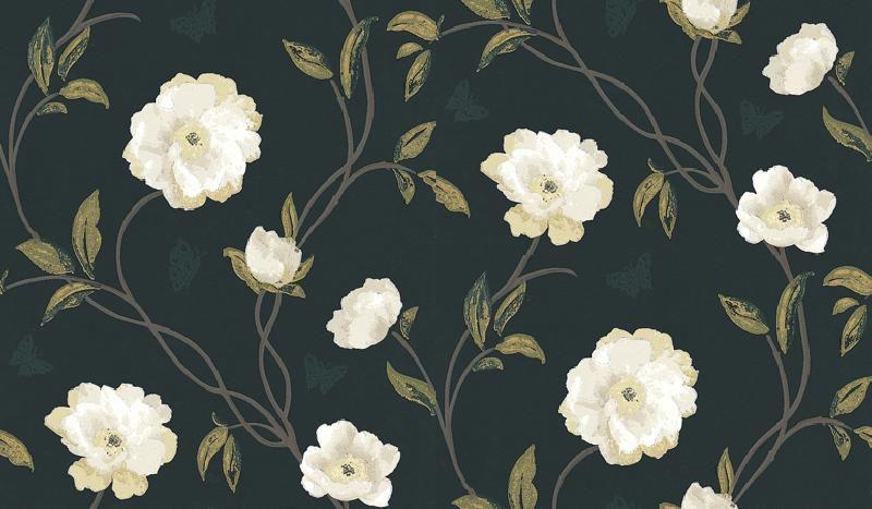 Nina Campbell Peony Place Wallpaper - Gillian Gillies Interiors - June 2020 Newsletter