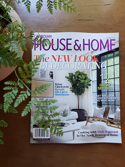 House & Home Magazine, photography Gillian Gillies