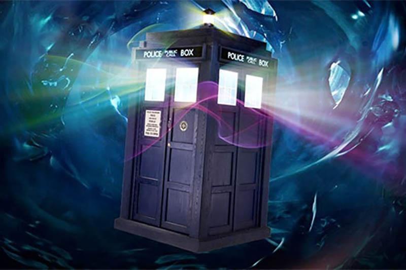 Dr Who Tardis, The Radio Times, UK