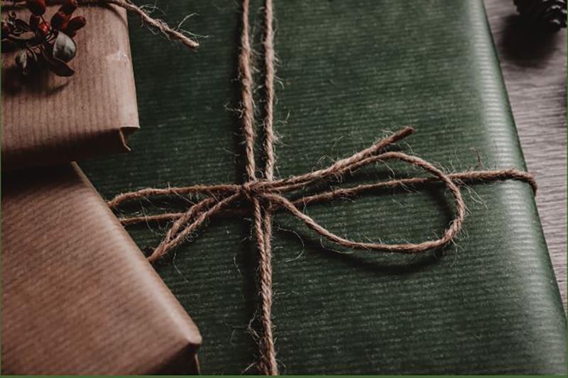 Wrapped Parcels via Canva