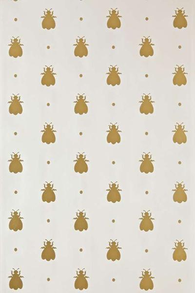 Farrow & Ball Bumble Bee Wallpaper - Gillian Gillies Interiors - June 2020 Newsletter